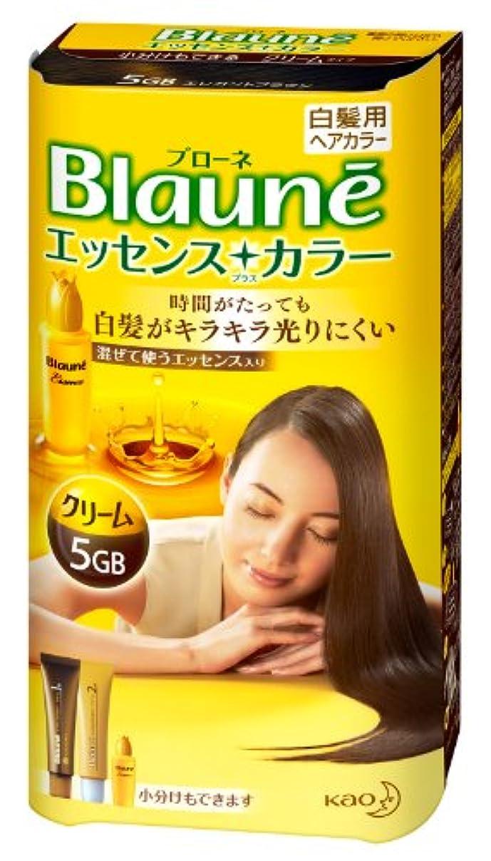 家事をする変形腹痛ブローネエッセンスプラスカラー 5GB エレガントブラウン