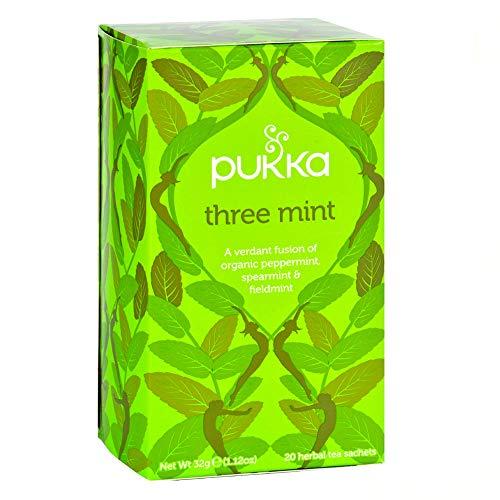 pukka(パッカ) スリーミント有機ハーブティー20TB