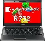 【中古】 ダイナブック dynabook R732/F PR732FAA6RBA51 / Core i5 3320M(2.6GHz) / SSD:128GB / 13.3インチ / ブラック