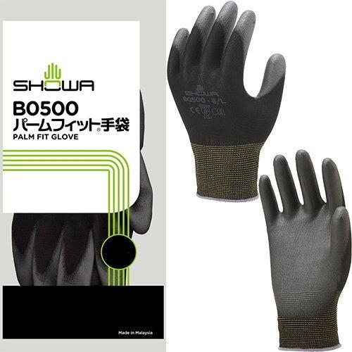 [해외]SHOWA 쇼와 글러브 | 背?き 장갑 | 팜 맞는 장갑 10 쌍 색상 : 블랙 사이즈 : L 번호 : B0500/SHOWA showa glove | back glove | palm fit glove 10 twin color: black size: L product number: B0500