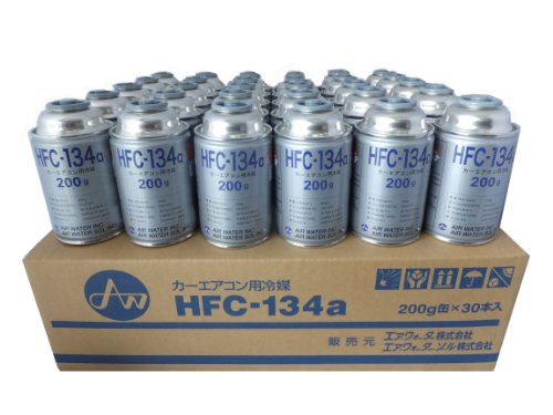 AIR WATER [ エアーウォーター ] カーエアコン用冷媒 [ 200g×30缶セット ] HFC-134a 【HTRC 2.2】