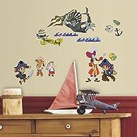RoomMates RMK3028SCS キャプテン・ジェイク&ザ・ネバーランド パイレーツ ピールアンドスティック ウォールデカール
