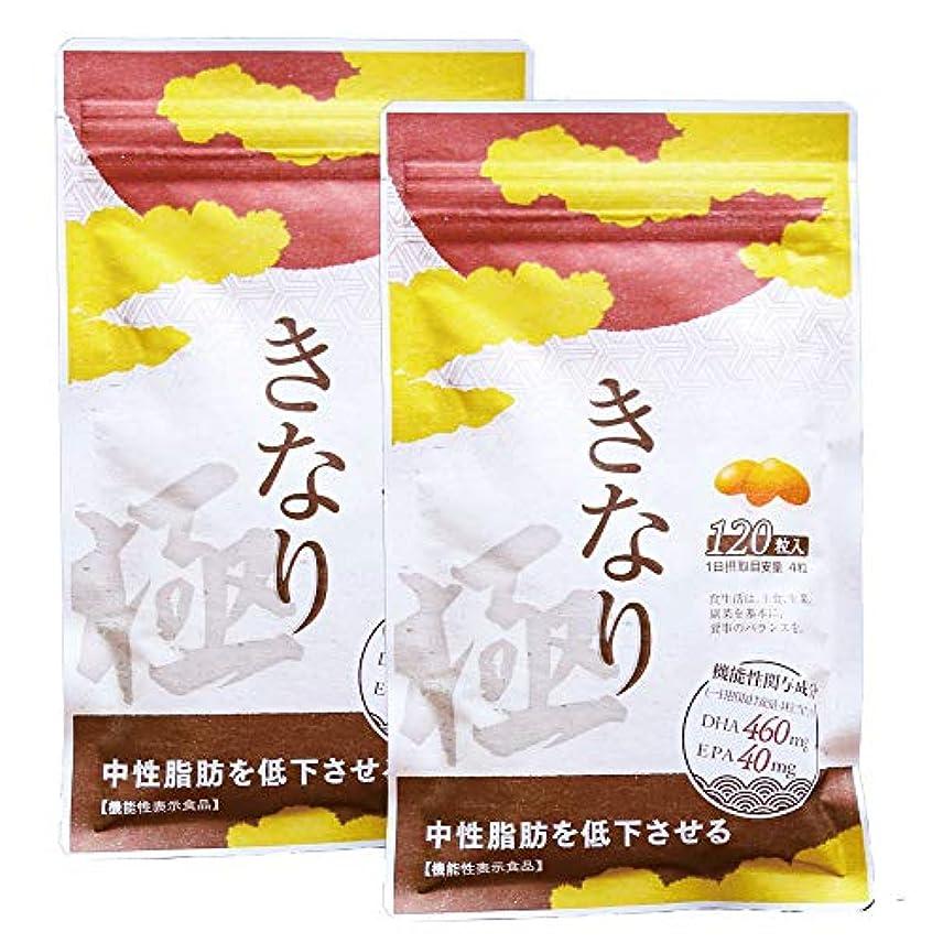 洗剤姉妹トンさくらの森 きなり極 中性脂肪を低下させる 【機能性表示食品】 国産DHA?EPAサプリメント 2袋セット