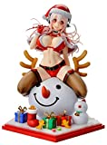 ヴェルテクス すーぱーそに子 クリスマスVer. 1/7スケール PVC製 塗装済み 完成品 フィギュア
