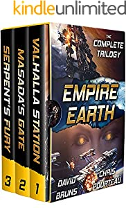 Empire Earth (The Complete Trilogy): A Space Opera Boxed Set (English Edition)