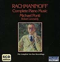 Rachmaninoff: Complete Piano Music by Michael Ponti (2011-04-05)