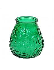 カメヤマキャンドル(kameyama candle) ネオベネチアン(ライトカラー) 「 グリーン 」