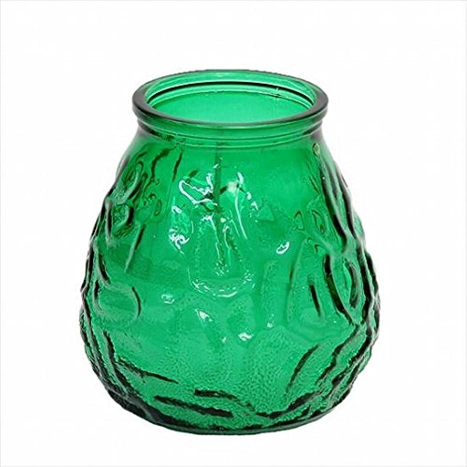 あからさまシルエット早くカメヤマキャンドル(kameyama candle) ネオベネチアン(ライトカラー) 「 グリーン 」