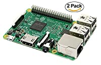 Raspberry Pi 3 Model B 1GB Motherboard - Twin Pack [並行輸入品]