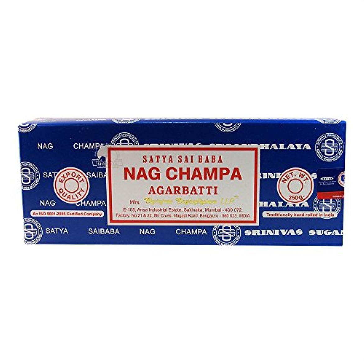 三十コテージブーム海外直送品Nag Champa Incense, 250 GRAMS by Sai Baba