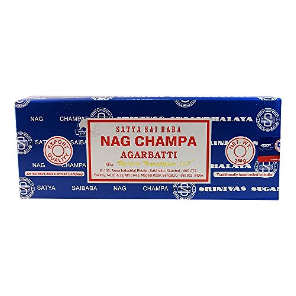 なので幾何学はい海外直送品Nag Champa Incense, 250 GRAMS by Sai Baba