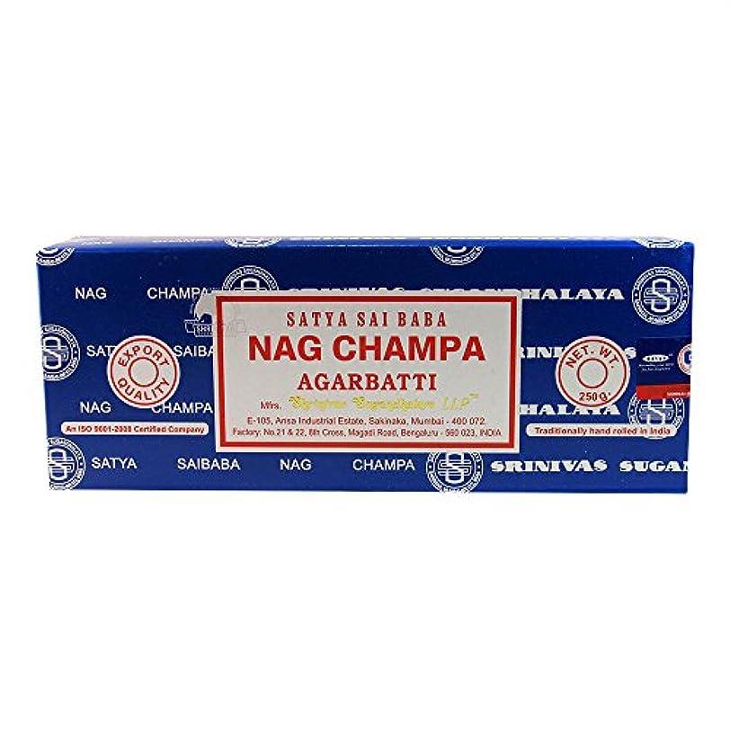 征服者虚偽パドル海外直送品Nag Champa Incense, 250 GRAMS by Sai Baba