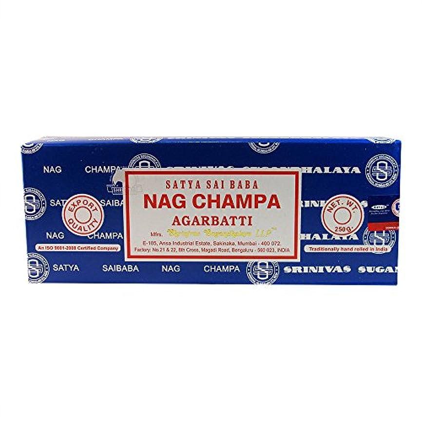 素子スクリュー小学生海外直送品Nag Champa Incense, 250 GRAMS by Sai Baba