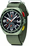 [モントレス・デ・ラックス]MONTRES DE LUXE 腕時計 BLACK AVIO CHRONOGRAPH AV40CRV ケース幅: 40mm メンズ [正規輸入品]