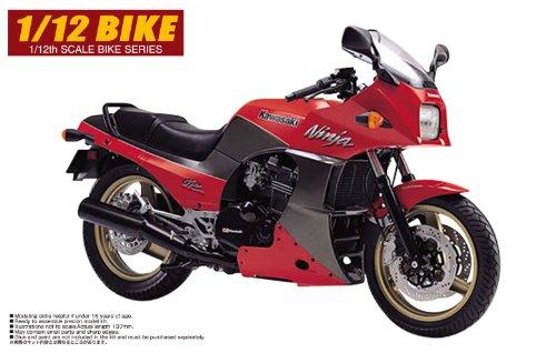 青島文化教材社 1/12 バイク No.15 KAWASAKI GPZ900 NINJA A9型