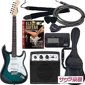 SELDER セルダー エレキギター ストラトキャスタータイプ サクラ楽器オリジナル ST-16/BLS 初心者入門リミテッドセット