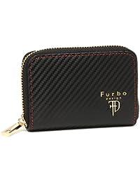 [フルボデザイン] コインケース メンズ Furbo design FRB118 ブラック レッド [並行輸入品]