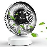 USB 扇風機 卓上扇風機 静音 ミニ扇風機 usbファン 角度調節可能 省エネ 7枚羽根 熱中症対策 日本語説明書