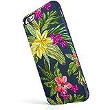 iPhone 6 Plus / 6s Plus ケース Akna魅惑シリーズ 斬新なデザイン 柔軟なシリコン 精巧なパターン 滑らかな表面 ガールケース iPhone 6 Plus & iPhone 6s Plus 適用 [Vacation in Hawaii](235-J.P)