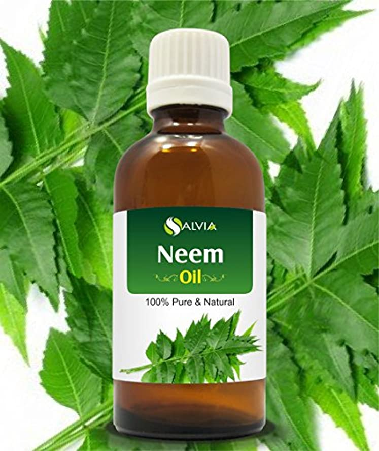 熟考する気楽な限られたNEEM OIL 100% NATURAL PURE UNDILUTED UNCUT ESSENTIAL OIL 30ML