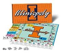 Illinois Fighting Illini Illiniopoly Monopoly Game