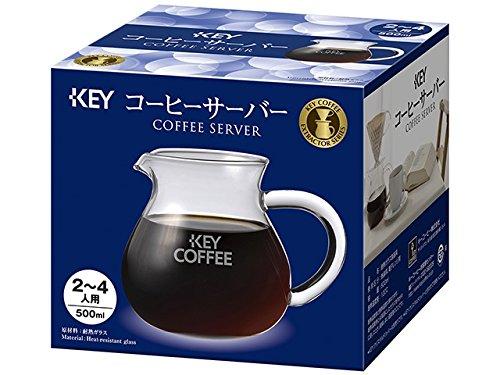 キーコーヒー コーヒーサーバー 2~4人用(500ml)
