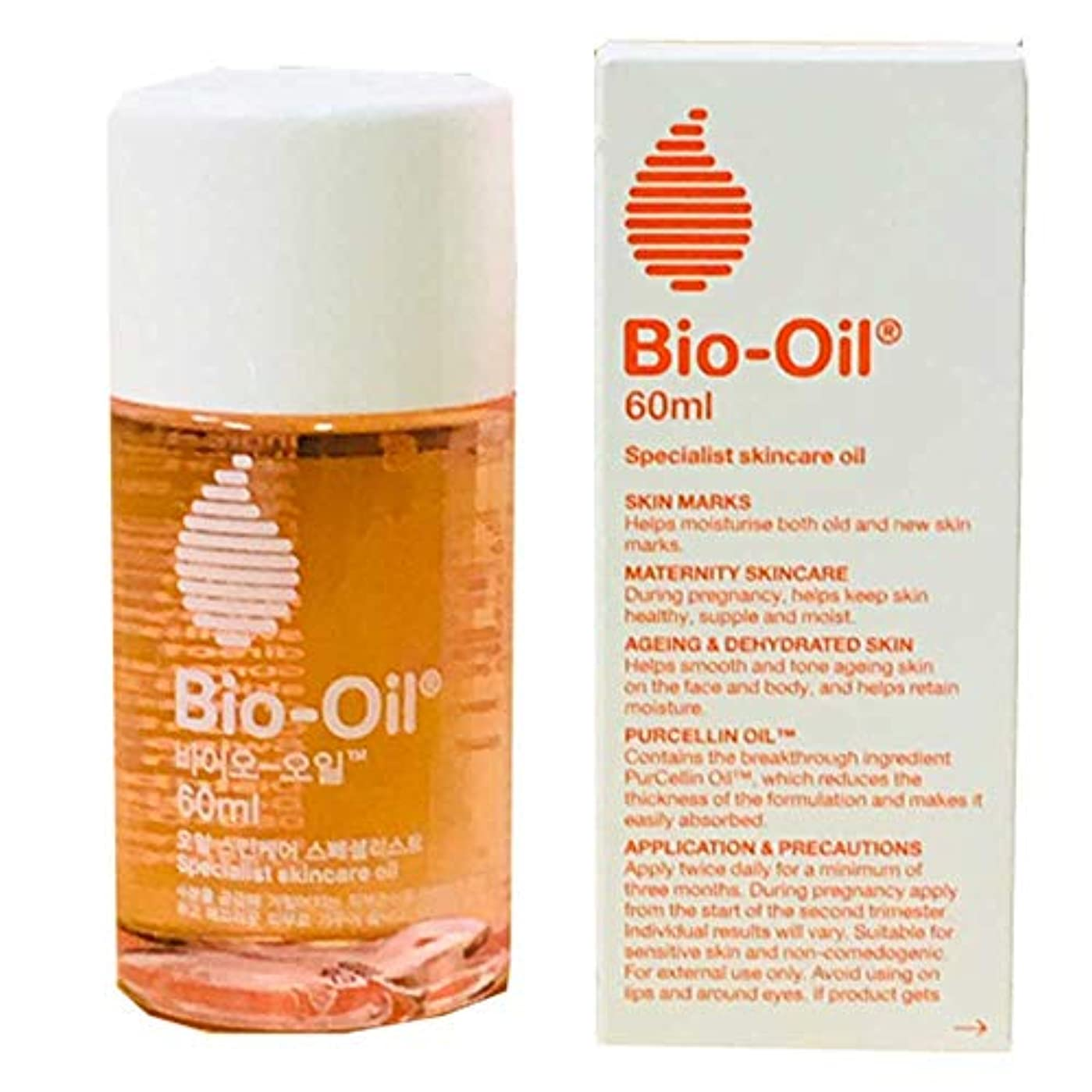 翻訳者恐ろしいです自動化バイオオイル 60ml (保湿オイル) [並行輸入品] Bio-Oil