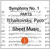 楽譜 pdf チャイコフスキー 交響曲第1番 オーケストラ用全パート譜セット(全楽章)