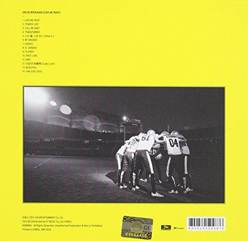 2集 リパッケージ - Love Me Right 韓国語バージョン(韓国盤)