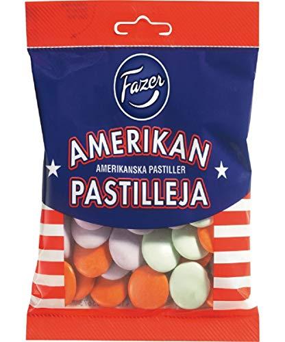 Fazer アメリカン パスティリ チョコレート 150g × 12袋セット フィンランドのチョコレートです [並行輸入品]