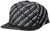[ニューバランス ゴルフ] [メンズ] 速乾 フラットキャップ (フィールドセンサー) / 012-9287008 / 帽子 平つば ゴルフ 010_ブラック 日本 FR (FREE サイズ)