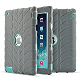 Best Maxboostバッテリーケース - iPad 2ケース, iPad 3ケース, iPad 4ケース、FiselタイヤデザインThree Layer Rugged Review