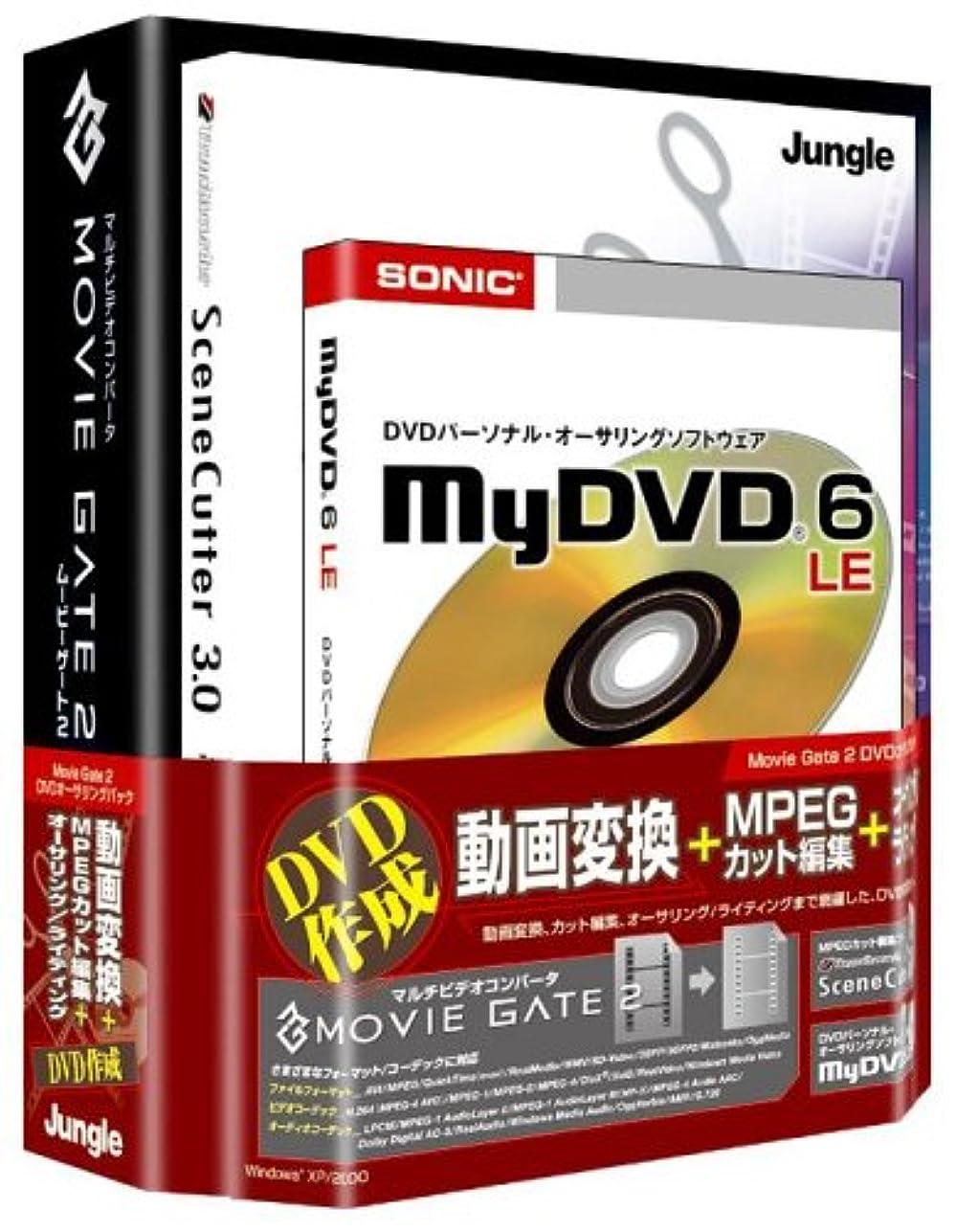 対応薄暗い雇用者Movie Gate 2 DVDオーサリングパック