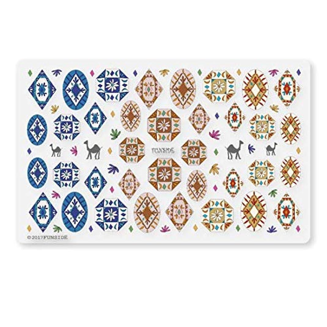 説明する練習した本土未硬化ジェル対応 Morocco モロッコ ネイルシール ネイルステッカー 民族 エスニック ボヘミアン 貼りやすい 貼るだけ 極薄シート 日本製