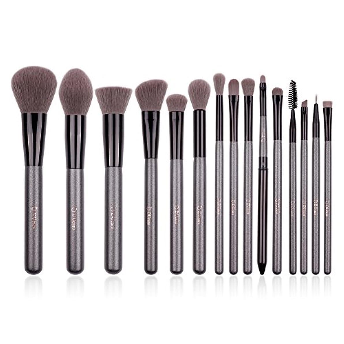 一般化する病的すでにDUcare ドゥケア 化粧筆 メイクブラシ15本セット 上等な使用感 粉含み力抜群