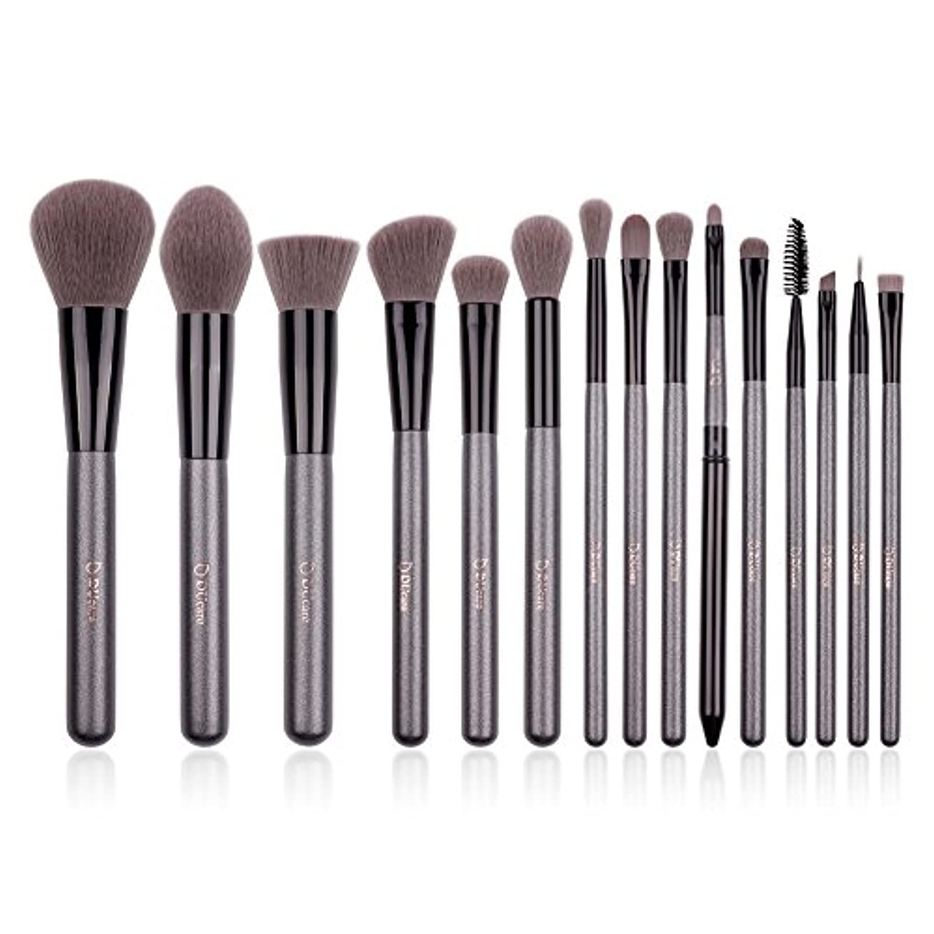 再現するコーラス時折DUcare ドゥケア 化粧筆 メイクブラシ15本セット 上等な使用感 粉含み力抜群