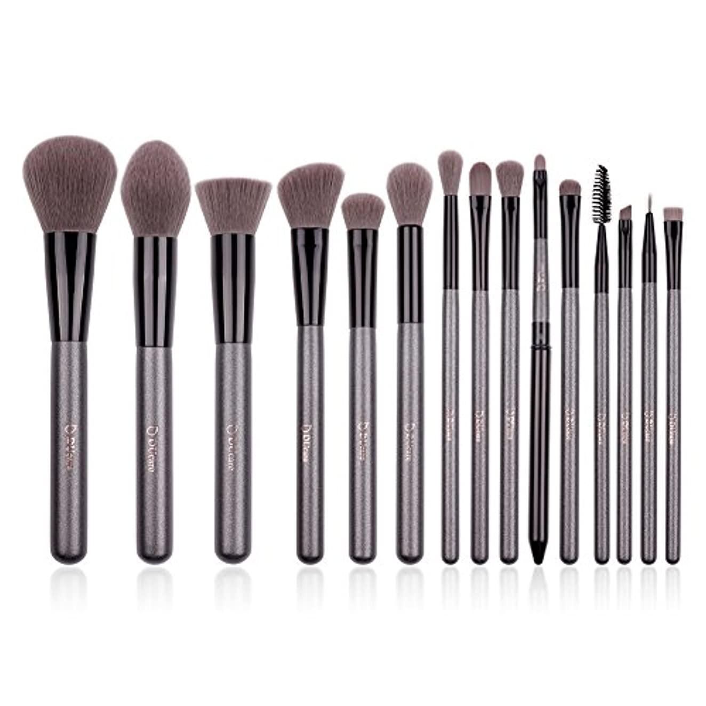 蒸留するブルーベル解決DUcare ドゥケア 化粧筆 メイクブラシ15本セット 上等な使用感 粉含み力抜群