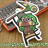【MONSTER HUNTER】モンスターハンターおまとめイヤホンコードボールチェーン(オトモアイルー)MH-OE-OA
