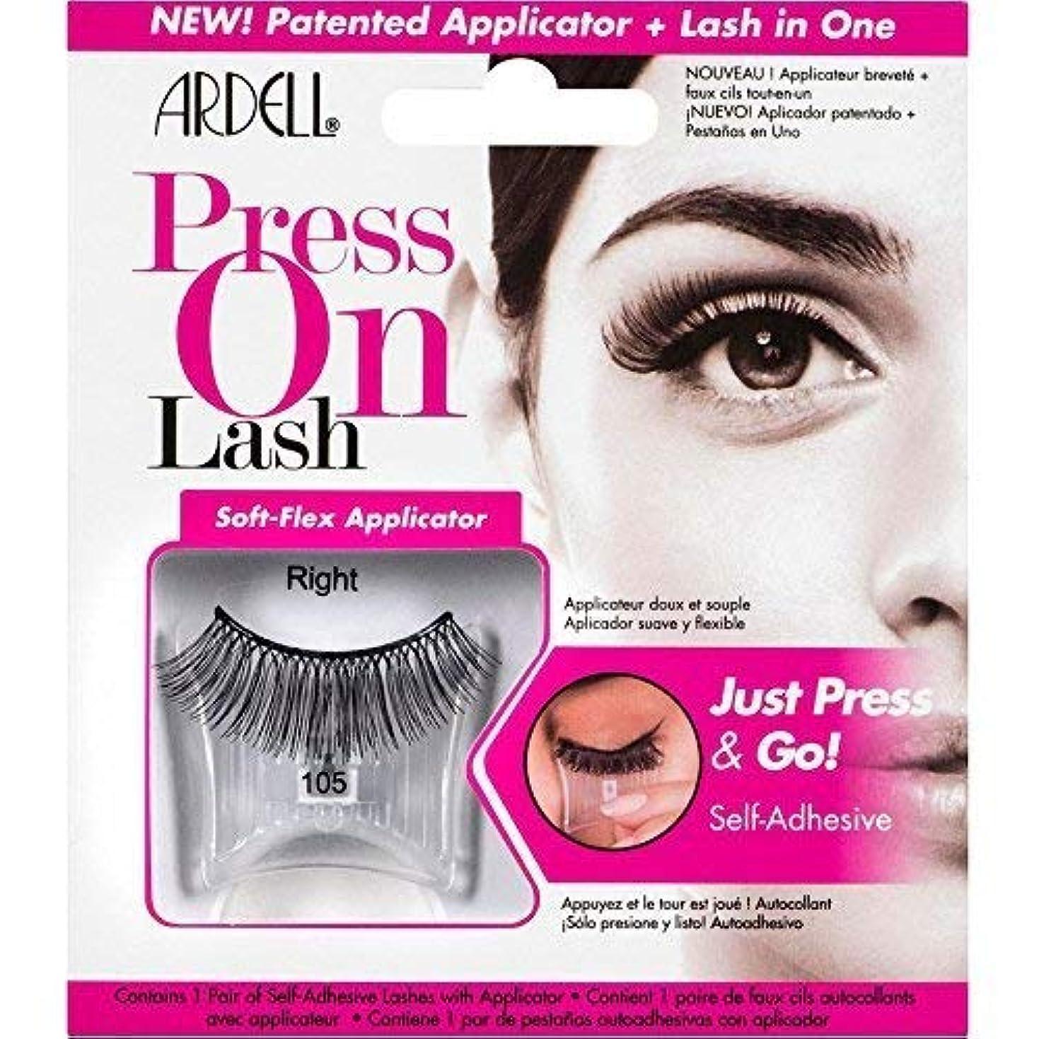 影響するドルバウンドArdell Press On Lashes Self-Adhesive - 105 Black