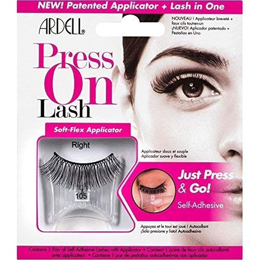 撤退工業化する増強するArdell Press On Lashes Self-Adhesive - 105 Black
