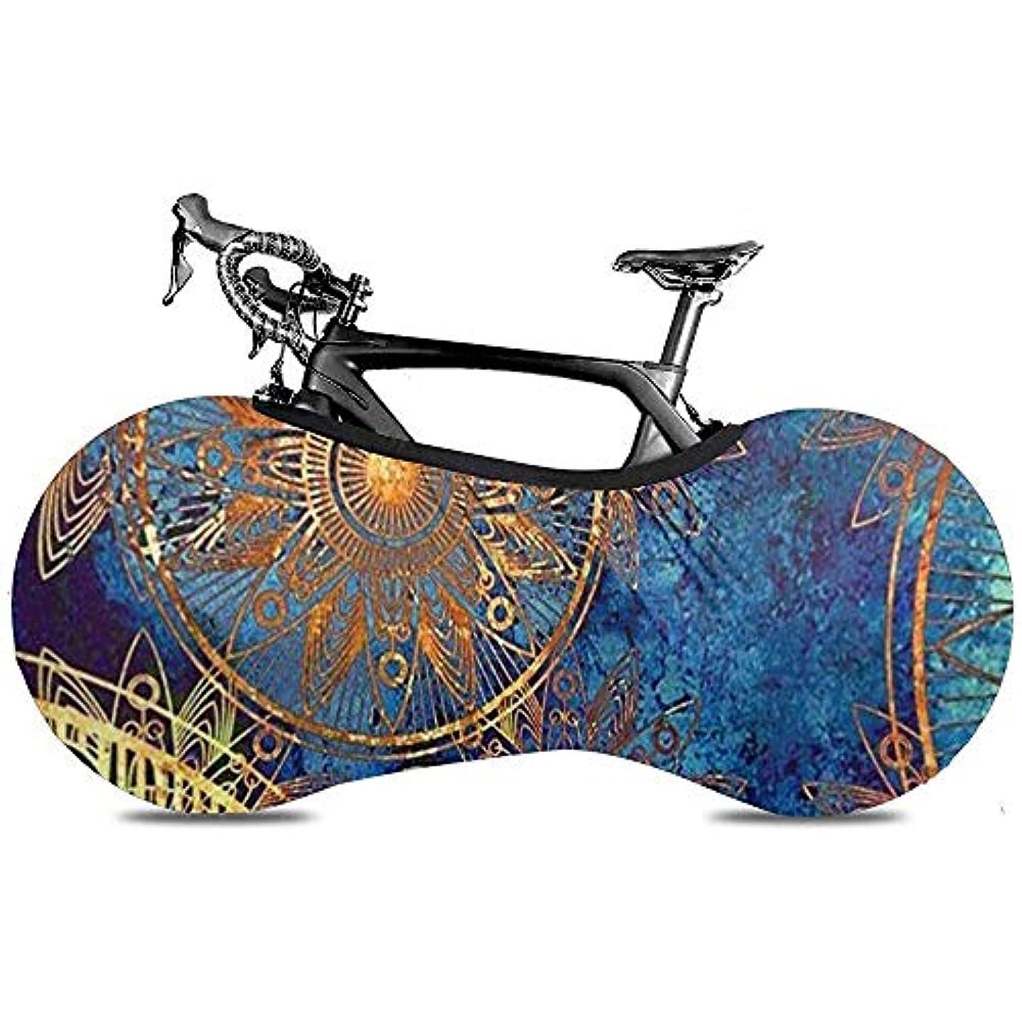 唇アカウント広々としたSweet-Heart自転車バイクカバービーチアイランドスカイクラウド(屋内保管用)-床と壁を汚れのない状態に保ちます