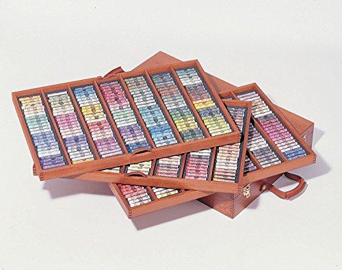 セヌリエ(sennelier) ソフトパステル 525色セット(キング)・木箱