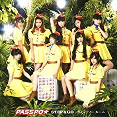 PASSPO☆「キャンディー・ルーム」のジャケット画像