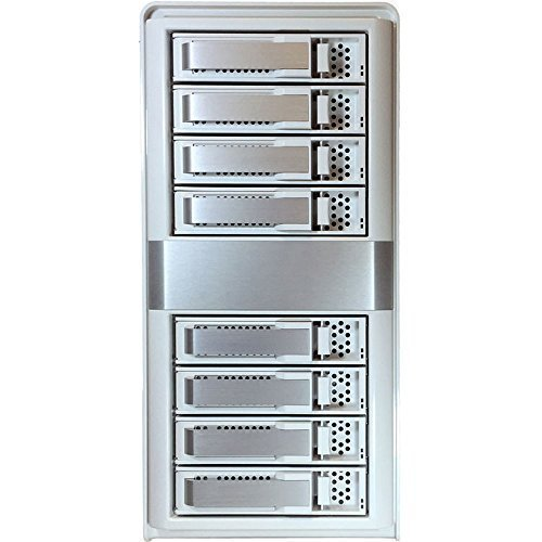 ARC-4038 SATA II HDD8台搭載能 SAS to SAS 12Gb/s 外付型JBOD Enclosure  ARECA