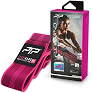 PTP FlexiBand Woven Stretching Loop for Flexibility, Pink, Small