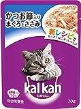 カルカン パウチ かつお節入りまぐろとささみ キャットフード 成猫用 70g×16袋 (まとめ買い)