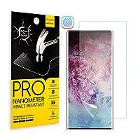 Samsung Galaxy Note 10 Pro 全面液晶保護フィルム Note 10+ Note 10 Plus フィルム 自動修復技術 柔軟性TPU制 気泡無 耐指紋 高透過率 全面カバー (Note10 Plus 一枚)