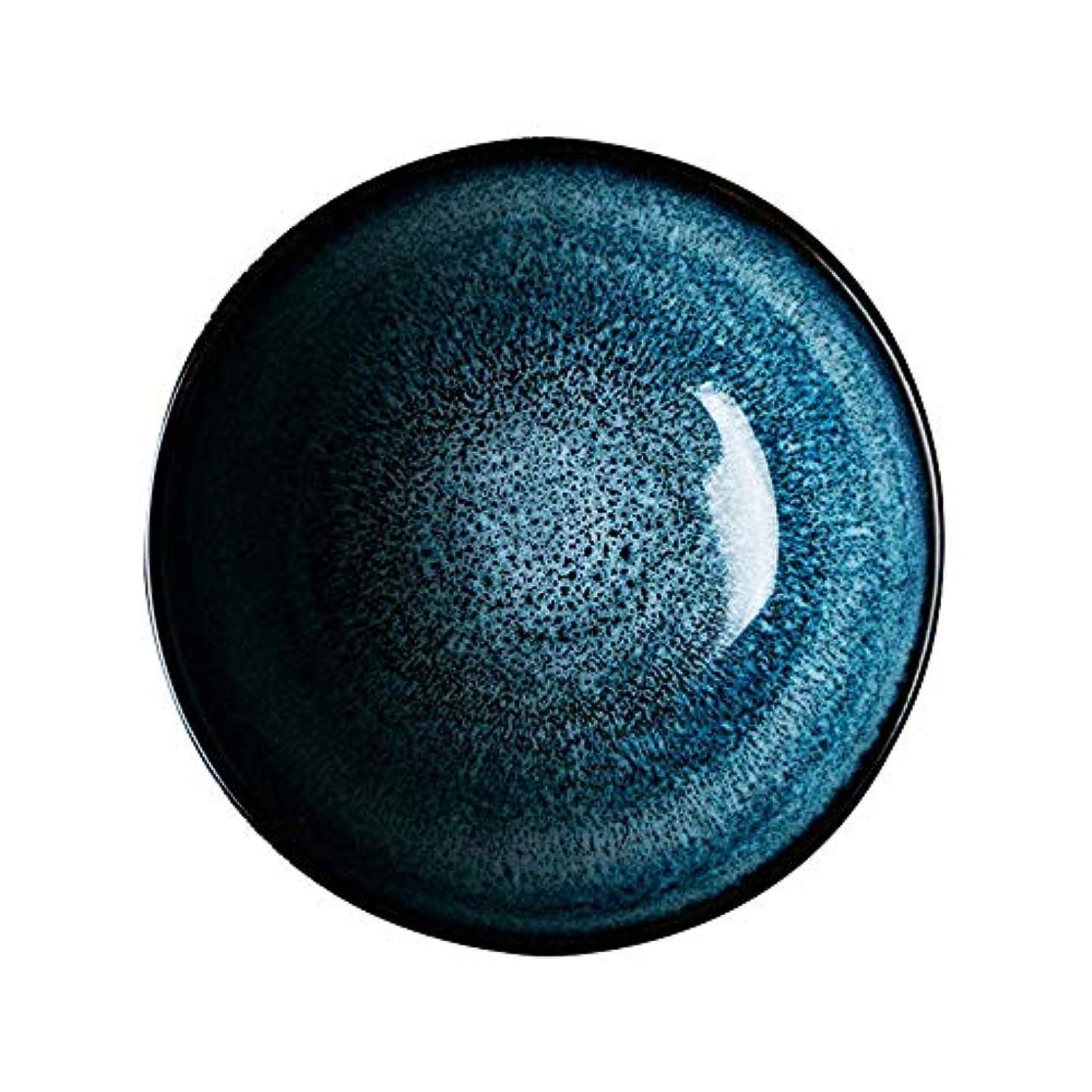 六アンティーク集めるCHIMEI キッチンクラフトリビングノスタルジアラウンドエナメルボウル、19.5 cm