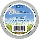 SafeWater Garbage Trash Can Odor Remover and Preventer, Made in The USA, NSF Tested Food Grade Carbon, Diaper Waste Can Smell