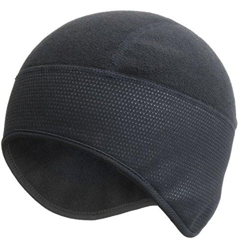防寒 防風 ヘッド ウェア ラップ カバー スポーツ ビーニー 裏起毛 帽子 スカル キャップ 自転車・バイク・アウトドア 装備 QL-WP (ワッチキャップ)